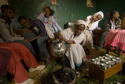 Cérémonie du café à Addis Abeba• Crédits : Karen Kasmauski - Corbis