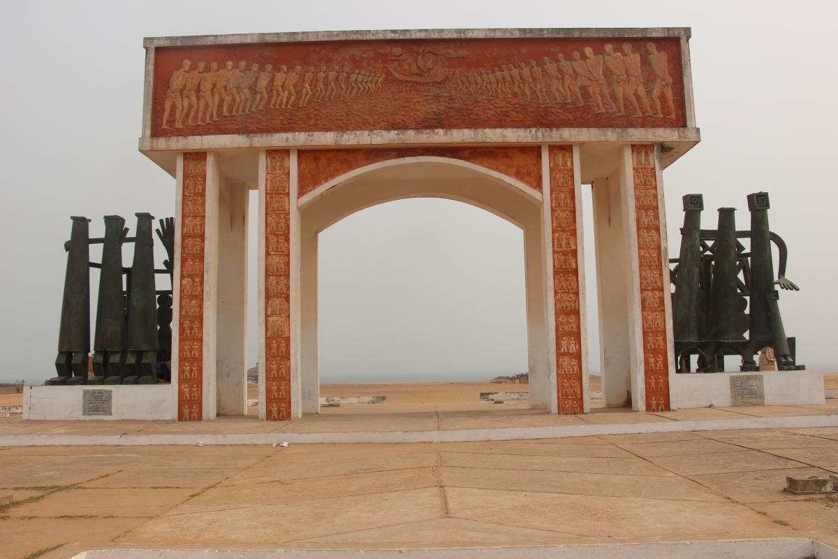 Les 6 étapes de la  Route des Esclaves de Ouidah