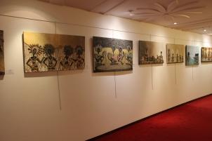 "Expo ""Empreinte Féminine"" de Maurhy Fondio au Sofitel Abidjan Hotel Ivoire"